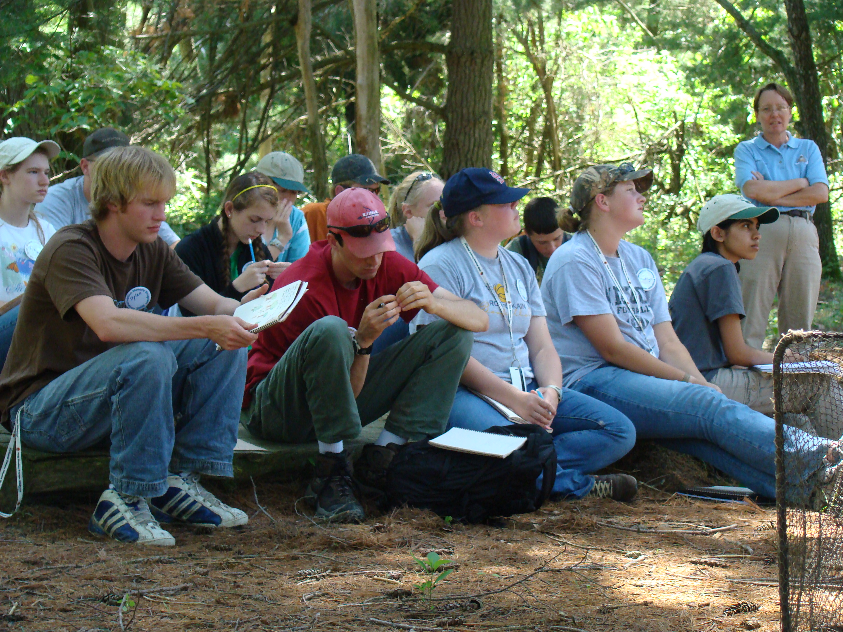 Conservation Honors Camp 2008